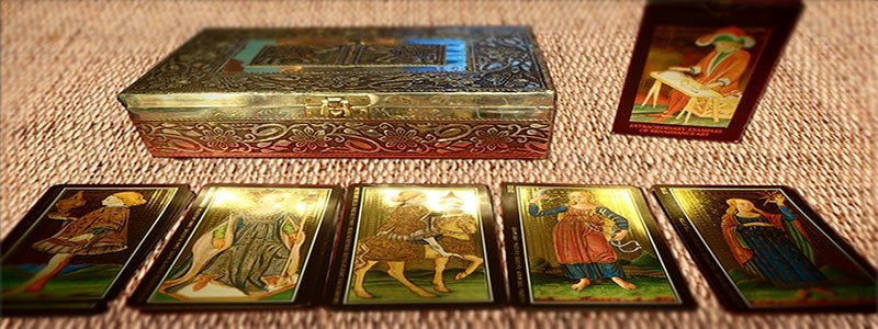 Imagen de las cartas de la baraja visconti